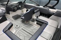 GatorStep Flooring of the 2021 Moomba Mondo Wake Boat