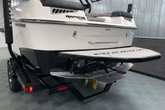 Flow 2.0 Surf System of the 2021 Moomba Mondo Wake Boat