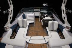 Seadek Vinyl Flooring of the 2021 Nautique 210 Wake Boat