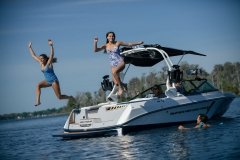 Family Time on the 2021 Nautique 210 Wake Boat