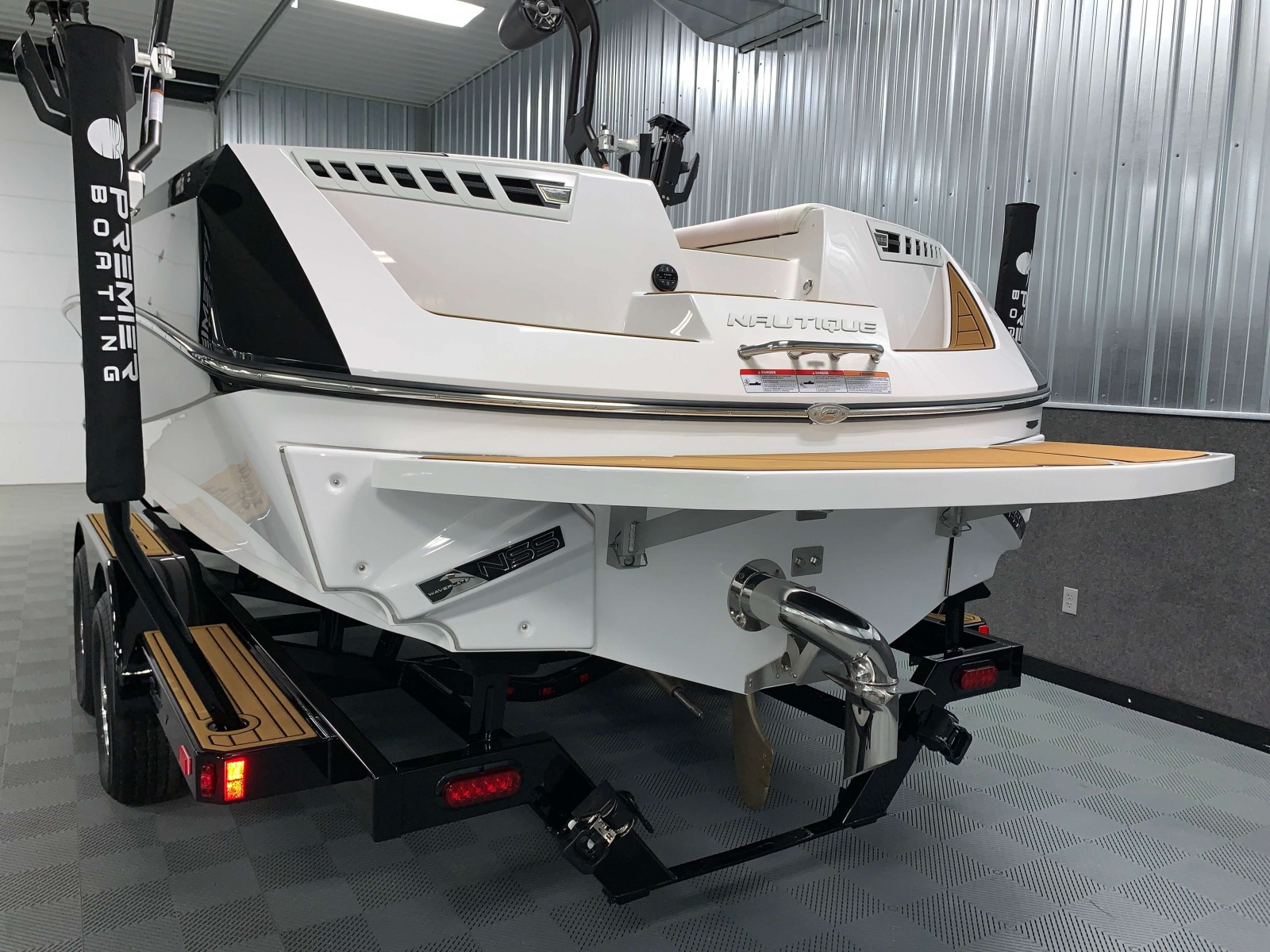 Nautique Surf System of the 2021 Nautique 230 Wake Boat