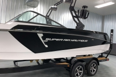 White Chromax on the 2021 Nautique 230 Wake Boat