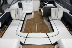 Seadek Vinyl Flooring of the 2021 Nautique 230 Wake Boat