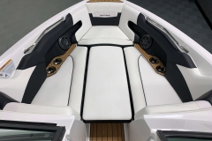 Bow Filler Cushion of the 2021 Nautique 230 Wake Boat