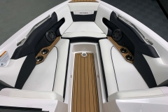 Interior Bow Layout of the 2021 Nautique 230 Wake Boat