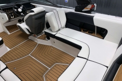 Removable Lean Back Seat (Starboard) of the 2021 Nautique 230 Wake Boat