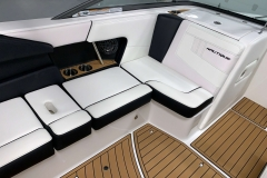 Recessed Glove Box of the 2021 Nautique 230 Wake Boat