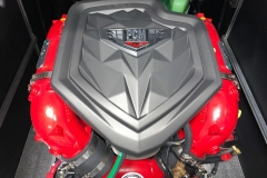 6.0L PCM ZR4 Engine of the 2021 Nautique 230 Wake Boat