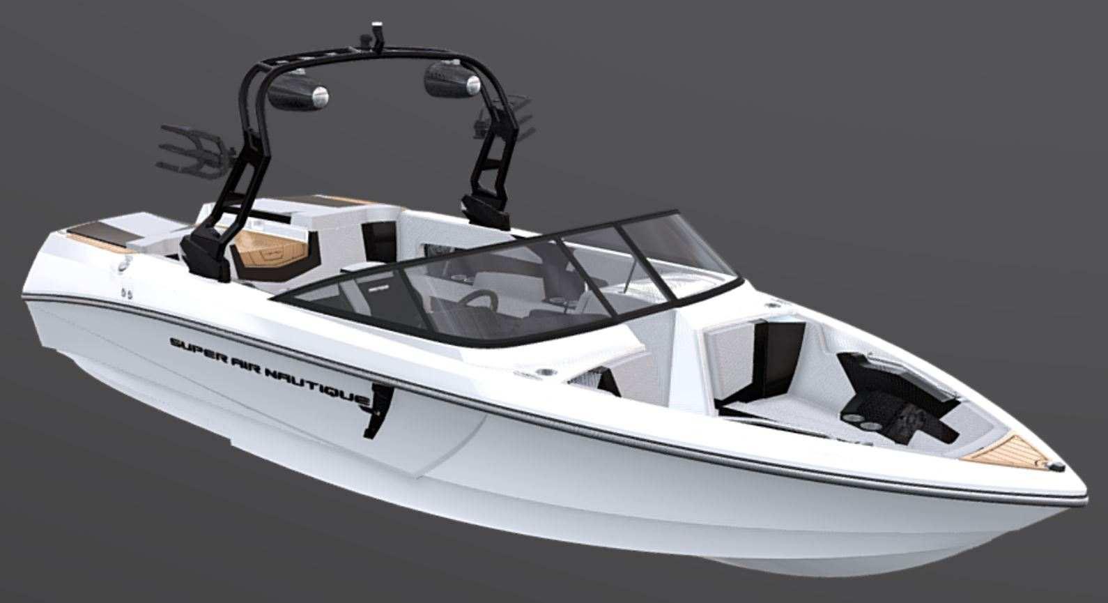 Wake Driven Hull Design of the 2021 Nautique 230 Wake Boat