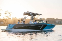 Exterior Gelcoat Color Pattern of the 2021 Nautique 230 Wake Boat