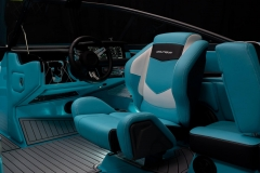 Adjustable Captain's Chair on the 2021 Nautique 230 Wake Boat
