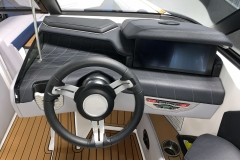 "12.4"" LINC Panoray Display of the 2021 Nautique G23 Wake Boat"