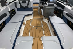 Interior Layout of the 2021 Nautique G23 Wake Boat