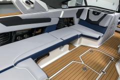 Admiral Blue Interior Accent on the 2021 Nautique G23 Wake Boat