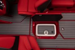 Sub Floor Nautique Cooler on the 2021 Nautique G23 Wake Boat