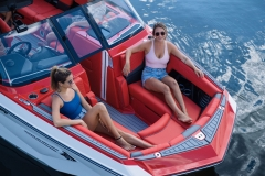 Wide Bow Design of the 2021 Nautique G23 Wake Boat