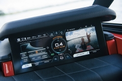 LINC Panoray Touchscreen Display of the 2021 Nautique G23 Wake Boat