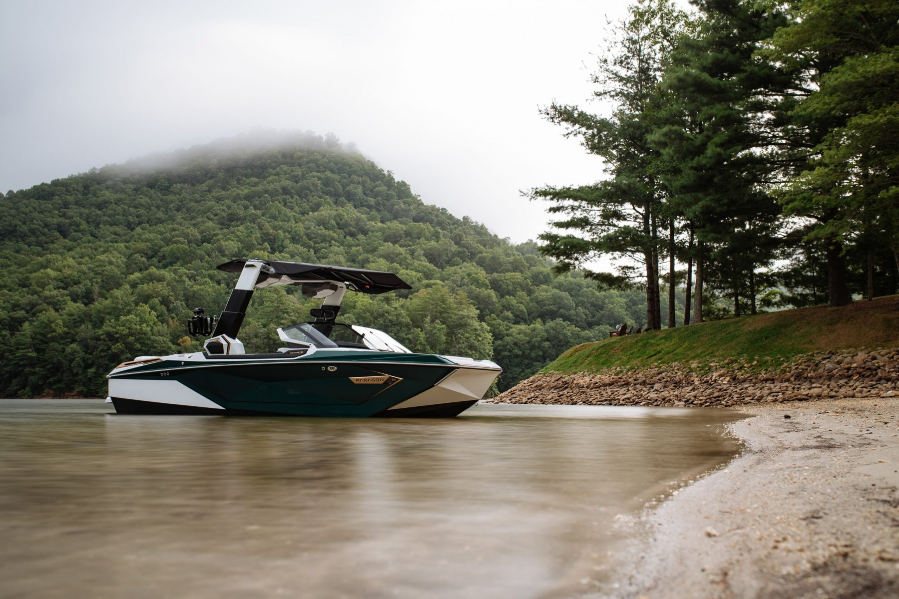 Scenic View on the 2021 Nautique G23 Paragon Wake Boat