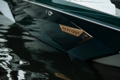 Gold Chromax on the 2021 Nautique G23 Paragon Wake Boat