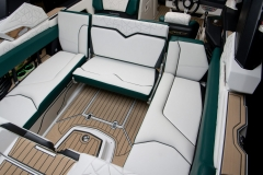 Rear-Facing Seat of the 2021 Nautique G23 Paragon Wake Boat
