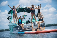 Family Time on the 2021 Nautique G23 Wake Boat