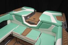 Seadek Vinyl Flooring of the 2021 Nautique G23 Wake Boat