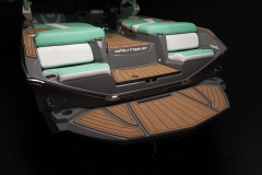 Comfortable Transom Seats of the 2021 Nautique G23 Wake Boat