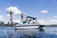 Lake Lifestyle on a 2021 Nautique GS20 Wake Boat