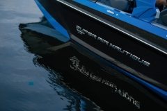 Masters Blue on the 2021 Nautique GS22 Wake Boat