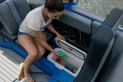 Sub Floor Nautique Cooler on the 2021 Nautique GS22 Wake Boat