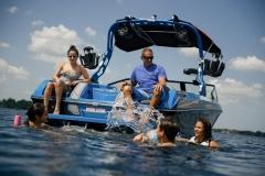 Nautique Lifestyle on the 2021 Nautique GS22 Wake Boat