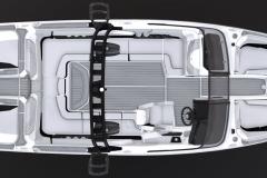2021-Nautique-GS24-Jet-Black-Metal-Flake-Tungsten-Grey-Wake-Boat-4