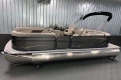 Interior/Exterior of the 2021 Premier 220 Sunspree RF Pontoon Boat