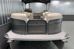 Bow Swim Deck of the 2021 Premier 220 Sunspree RF Pontoon Boat