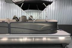 Exterior Design of the 2021 Premier 220 Sunspree RF Pontoon Boat