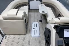 Interior Bow Layout of the 2021 Premier 230 Solaris RL Tritoon Boat