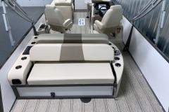 Interior Layout of the 2021 Premier 230 Solaris RL Tritoon Boat
