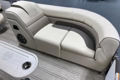 Light Roast Accent on the 2021 Premier 230 Solaris RL Tritoon Boat