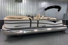 Interior/Exterior of the 2021 Premier 230 Solaris RL Tritoon Boat