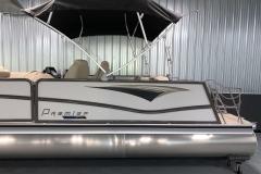 11' Evolution Bimini Top of the 2021 Premier 230 Solaris RL Tritoon Boat