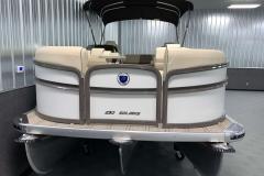 "PTX 30"" Tritoon Package on the 2021 Premier 230 Solaris RL Tritoon Boat"