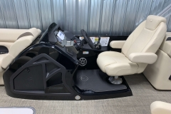 Black Helm Upgrade on the 2021 Premier 230 Sunsation RF Tritoon Boat