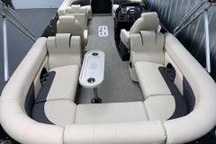 Interior Layout of the 2021 Premier 230 Sunsation RF Tritoon Boat