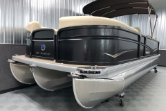 PTX Tritoon Package on the 2021 Premier 230 Sunsation RF Tritoon Boat