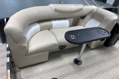 Removable Snack Table of the 2021 Premier 250 Intrigue RF Tritoon Boat