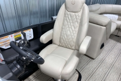 Ambassador Captain's Chair of the 2021 Premier 250 Intrigue RF Tritoon Boat