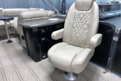 Executive Galley of the 2021 Premier 250 Intrigue RF Tritoon Boat
