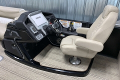 Black Helm Upgrade on the 2021 Premier 250 Intrigue RF Tritoon Boat