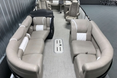 Interior Layout of the 2021 Premier 250 Grand Majestic Tritoon Boat