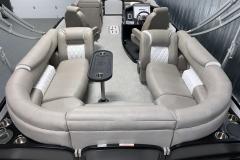 Weave Vinyl Flooring of the 2021 Premier 250 Grand Majestic Tritoon Boat